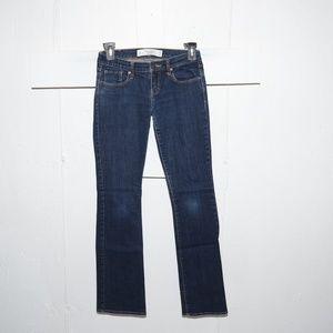 Abercrombie & fitch emma womens jeans sz 2 R 2334